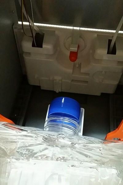 コスモウォーター水の接続部分