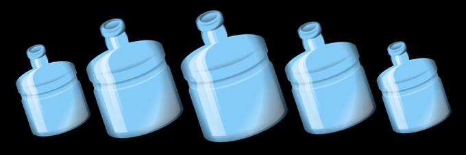 ボトル5本