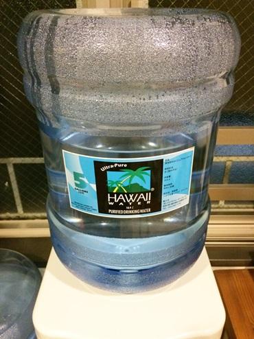 ハワイウォーターサーバーの水