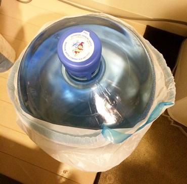 ハワイウォーターのボトルの発注
