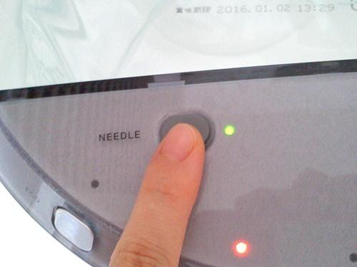 ニードルボタン
