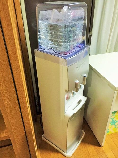 電源がなくても水が出るプレミアムウォーター