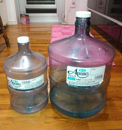 アピュアは選べるボトルサイズ