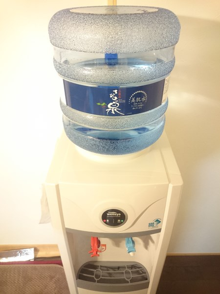 さひめの泉のボトル設置方法