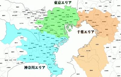 クリスタルクリアウォーターズの配達エリア