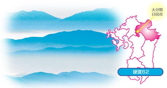 日田の天然水